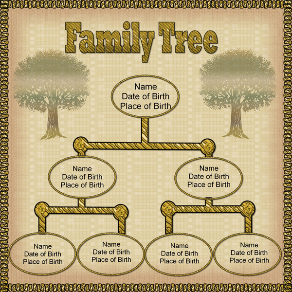 Blank Family Tree Template In Spanish Pics Download